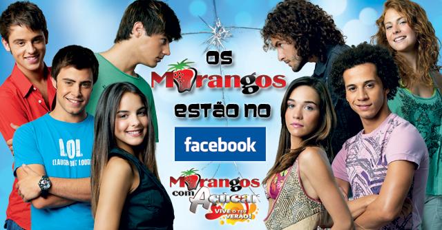 Facebook oficial dos Morangos com Açúcar
