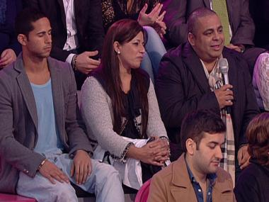 Teresa Guilherme fala com pais de Joana