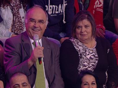 Pais de Hélio falam com Teresa Guilherme